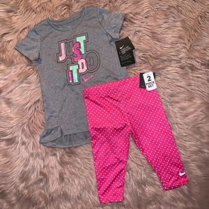 Girl's Nike Set